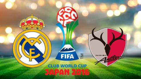 Real Madrid vs Kashima Antlers, real madrid kashima, real madrid final mundialito, real madrid mundial clubes
