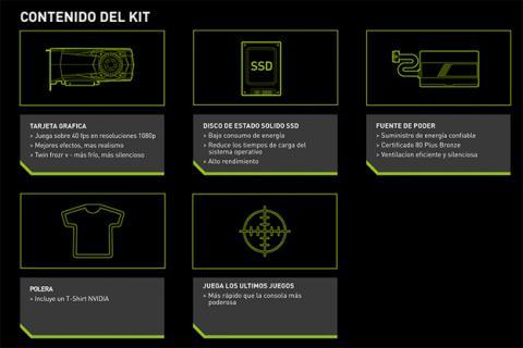 PC Gaming Kit de Nvidia