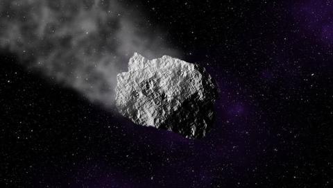 Asteroide impacta en el océano