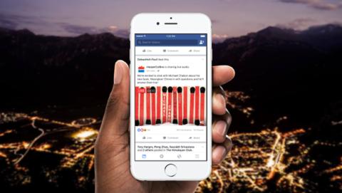 Transmisiones de audio en vivo de facebook