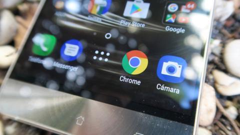 Detalle de la pantalla del ZenFone 3 Deluxe