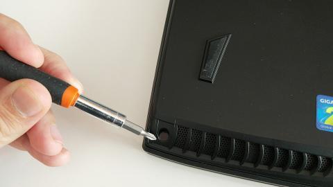 precinto del gigabyte P57X