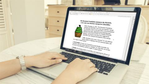 Interfaz MUFFIN de LibreOffice 5.3