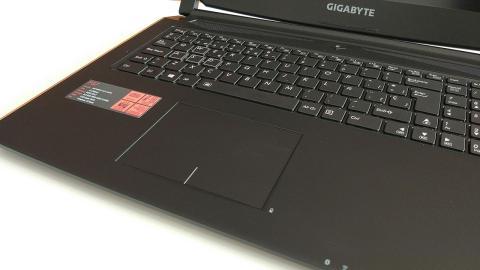 teclado del Gigabyte P57X