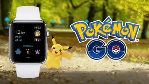 Pokémon GO ya disponible en el Apple Watch