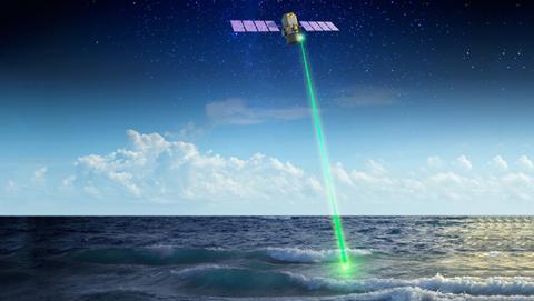Laser-espacial-nasa