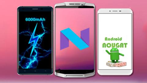 Oukitel actualizará seis modelos a Android Nougat en 2017