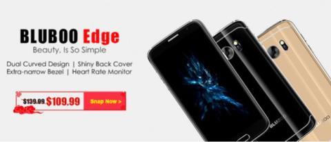 Bluboo Edge, la pantalla con doble curvatura más asequible