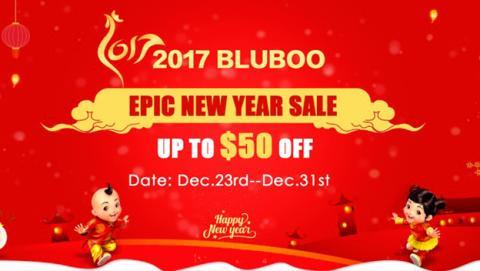 Bluboo da la bienvenida a 2017 con los mejores descuentos