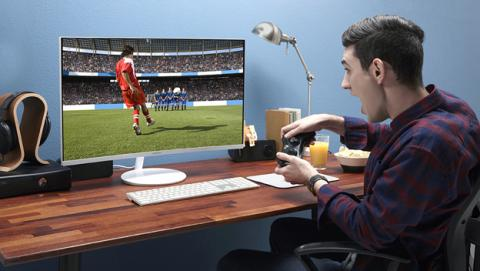 Samsung CH711, monitores curvos para gamers