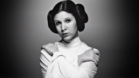 La curiosa historia del obituario de Carrie Fisher y Star Wars
