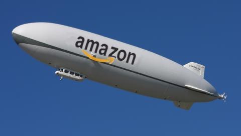 Amazon podría lanzar sus drones desde almacenes volantes en zepelines