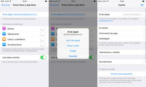Cambiar el país de la App Store