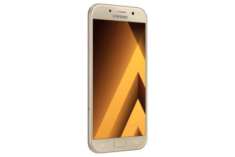 Samsung Galaxy A5 2017 en el acabado dorado