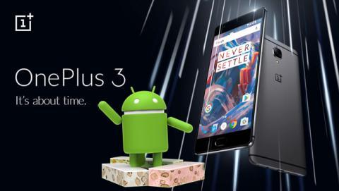 La actualización de Android 7.0 Nougat llega a OnePlus