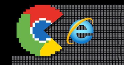 Chrome crece e Internet Explorer cae en usuarios