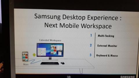 El Galaxy S8 podría estrenar la plataforma de Samsung Desktop Experience