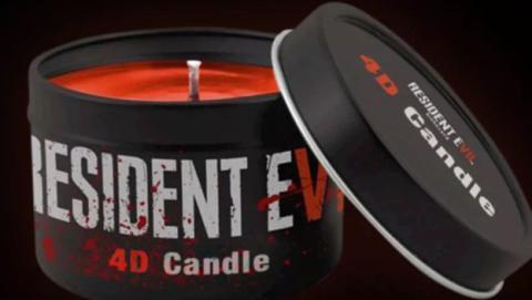 Esta vela de Resident Evil 7 huele a sangre, y a otras cosas