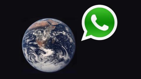 Se enviaron 63.000 millones de mensajes de WhatsApp en Nochevieja