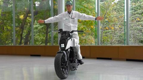 honda moto equilibrio
