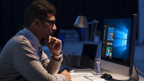 El filtro de luz azul de Windows 10
