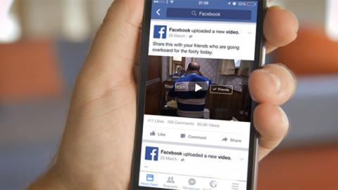 Facebook incluirá publicidad en los vídeos