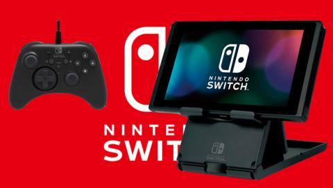 Los accesorios que Hori lanzará para la Nintendo Switch