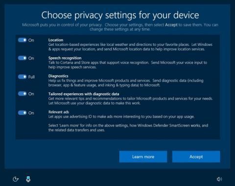 Los ajustes de privacidad que traerá la Windows 10 Creators Update