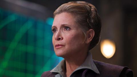 Leia Organa en El Despertar de la Fuerza