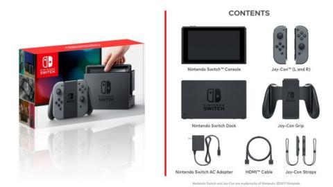contenido nintendo switch