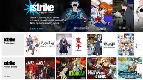 anime strike de amazon