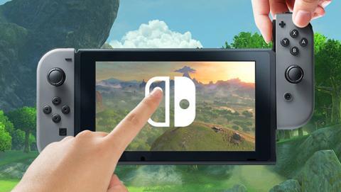 Nintendo Switch cuenta con una pantalla táctil con TouchSense