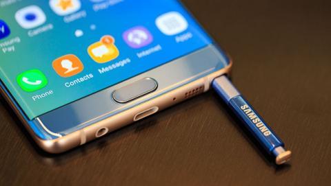 La batería, causa de las explosiones del Samsung Galaxy Note 7