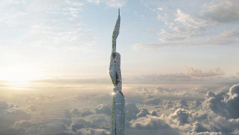 Así es el rascacielos del futuro: 5 kms de altura en impresión 3D