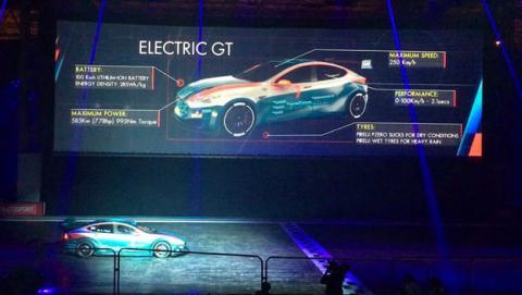 El Model S modificado que ha presentado Electric GT