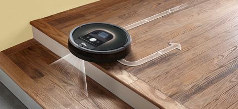 Roomba 980 escaleras