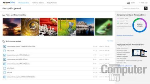 Cómo guardar tus fotos y vídeos gratis en Amazon Drive