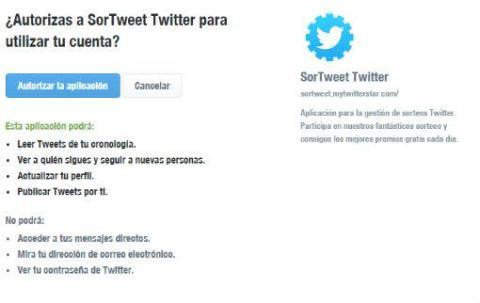 Twitter App maliciosa