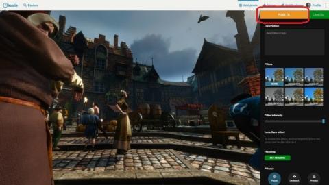 Captura imágenes de 360 grados de tus videojuegos con NVIDIA Ansel