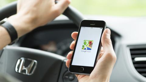 Encontrar aparcamiento con Google Maps
