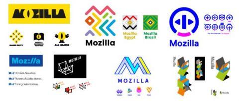 Mozilla selección final logos