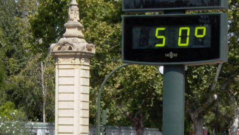 Aumento de las temperaturas en 2016 como consecuencia del calentamiento global