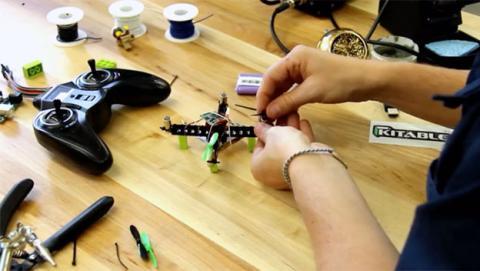 mini drone lego