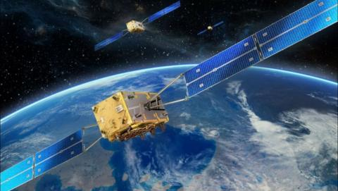 Satélites europeos Galileo para posicionamiento GPS