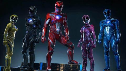 Tráiler del remake de los Power Rangers con Bryan Cranston