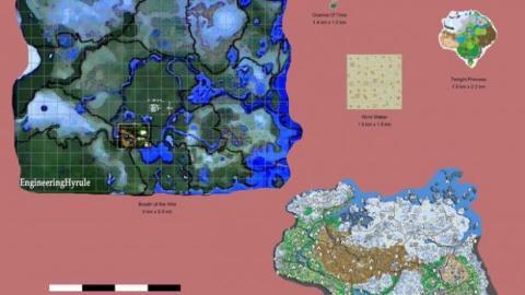 mapa the legend of zelda breath of the wild