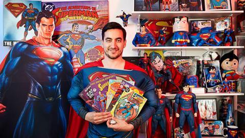 Esta es la colección de Superman más grande que existe