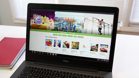 A partir de ahora todos los Chromebook contarán con apps Android