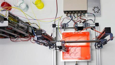 impresora 3d piel
