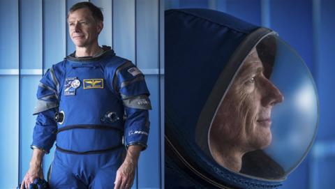Traje espacial para los astronautas modernos